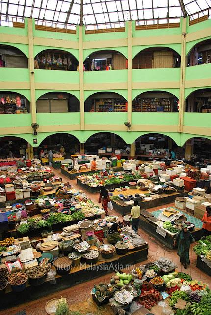 Famous Market in Kota Bharu