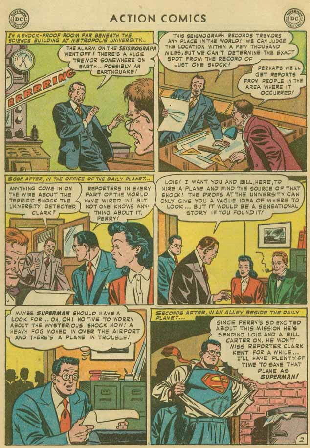 Read online Action Comics (1938) comic -  Issue #169 - 5