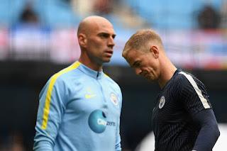 Caballero vs Hart, Manchester City 2016