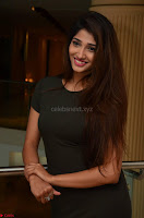 Priya Vadlamani super cute in tight brown dress at Stone Media Films production No 1 movie announcement 059.jpg