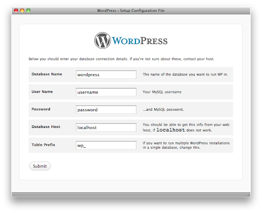 Best way to manually install free wordpress