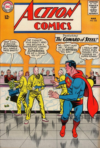 Episode #380 Part II: Superman Comic Book Cover Dated March 1965: Action Comics #322!