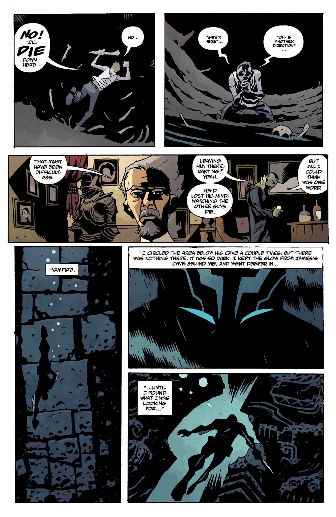 Read online Abe Sapien comic -  Issue #8 - 11
