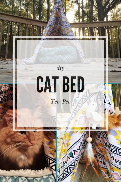#catbed #DIY #teepee #shop #cbias