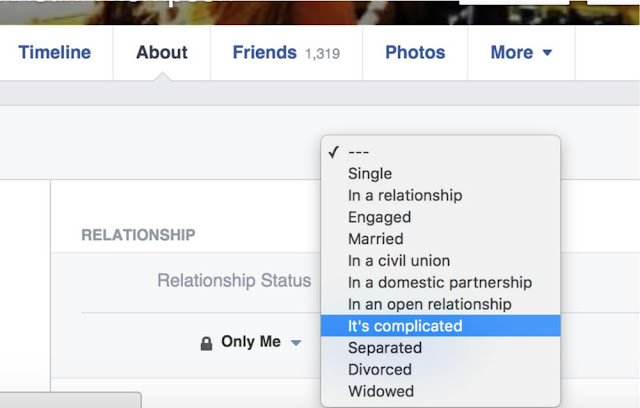 Facebook Relationship Status: Complicated