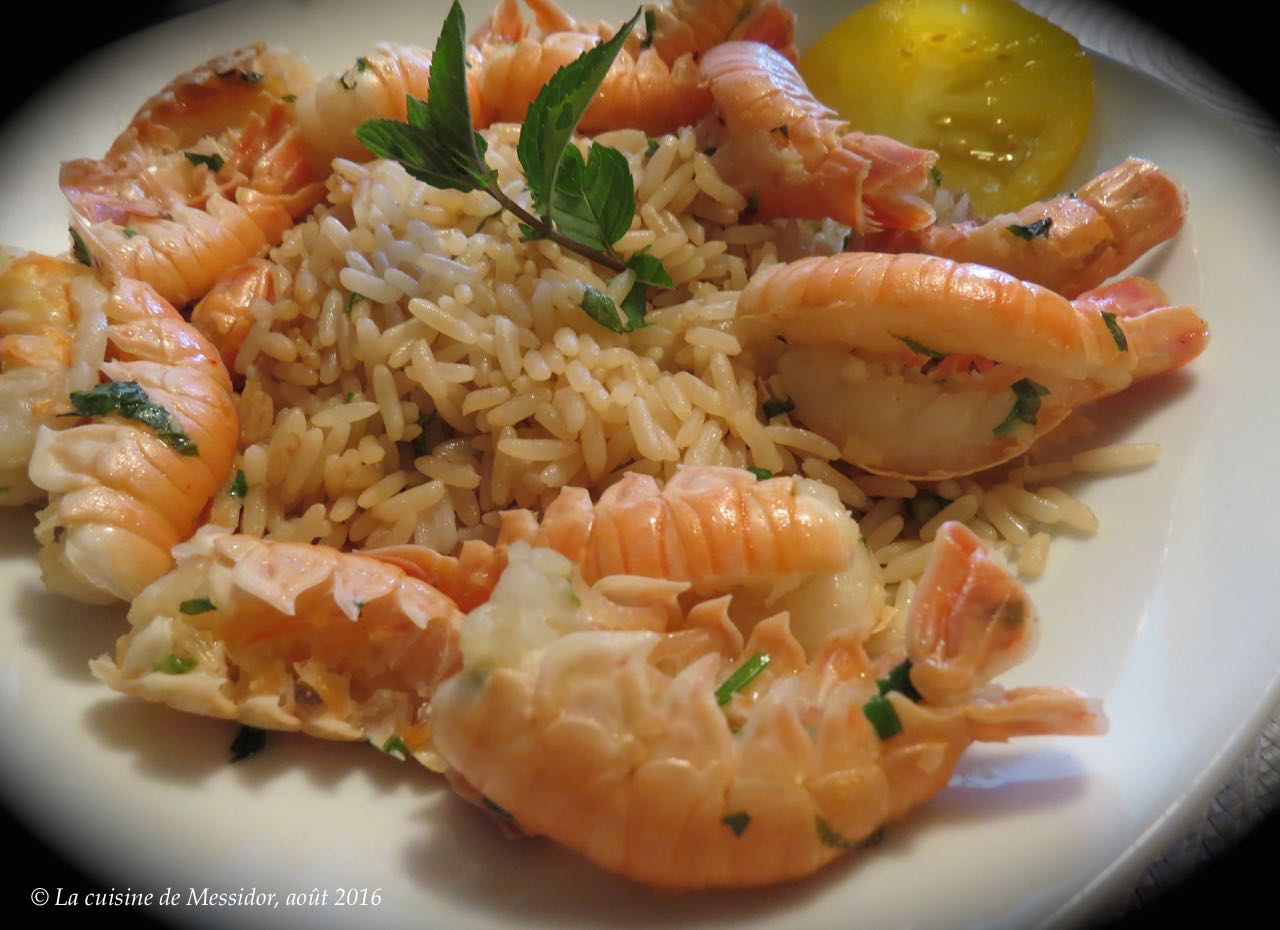 how to cook langoustines on bbq