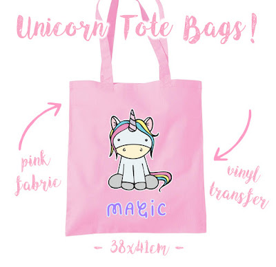 unicorn, unicorn tote bag, pastel elixir, kickstarter