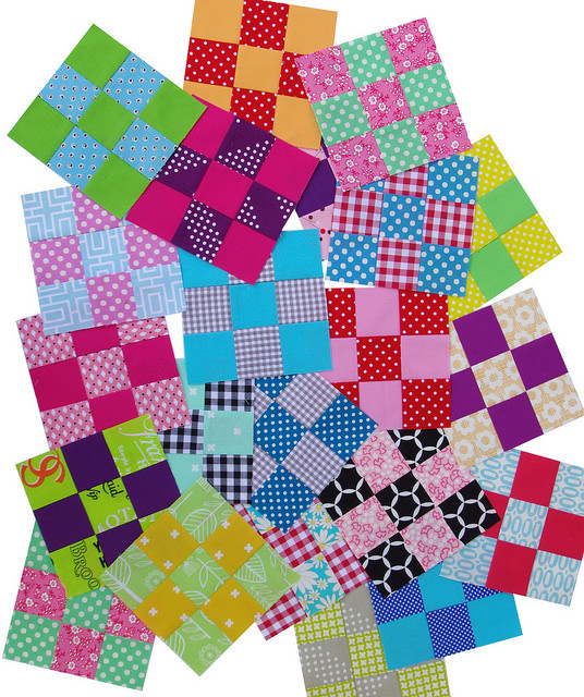 Nine-Patch Blocks | Red Pepper Quilts