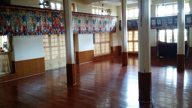 Prayer Hall at Dalai Lama Temple