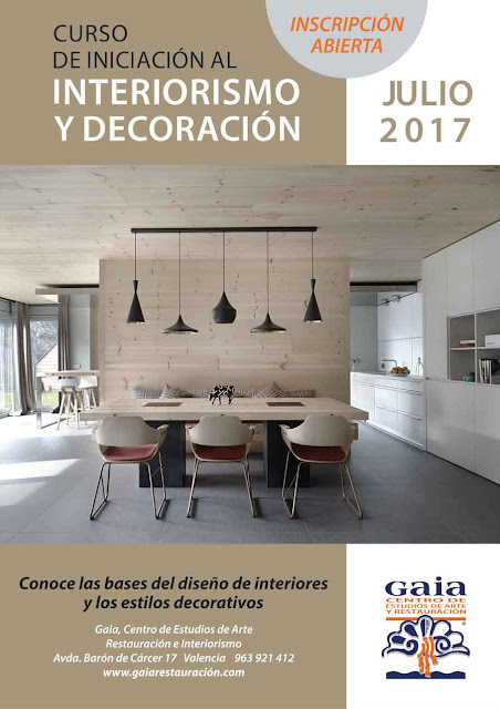 Cursos de dise o de interiores for Decoracion de interiores a distancia