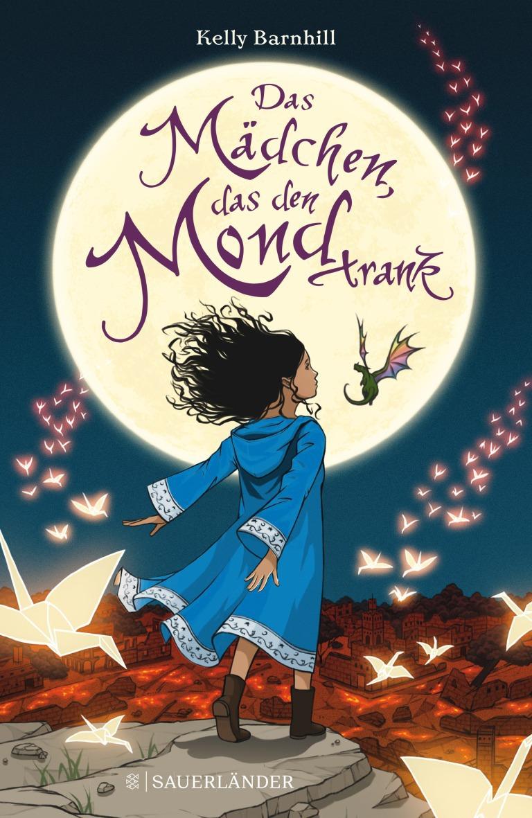 Das Mädchen das den Mond trank Cover