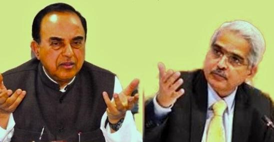 सुब्रमण्यम स्वामी का मोदी सरकार पर हमला, कहा भ्रष्टाचारी को बना दिया RBI गवर्नर