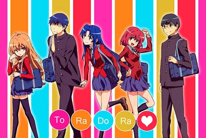 To RA DO RA anime romantico