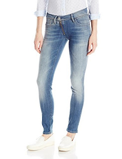 ebc1777a3f According to the experts this is the best G-Star Raw Women's Lynn Zip  Midrise Skinny Bionic Slander Super Stretch Jean, Medium Aged, 28/32 2019