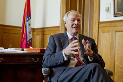 Arkansas' Governor Asa Hutchinson