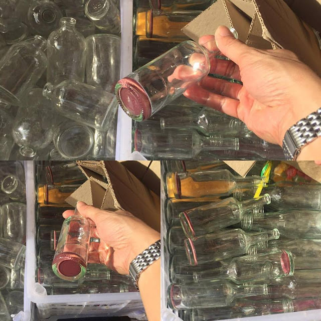 Giveaway Bottles That Can Be Dangerous To One's Health Are Being Sold In Divisoria!