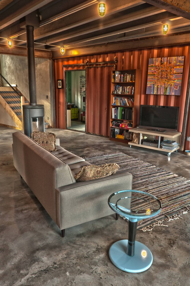 Denver Home Builders Shipping Container Homes: Green Off-the-grid Shipping