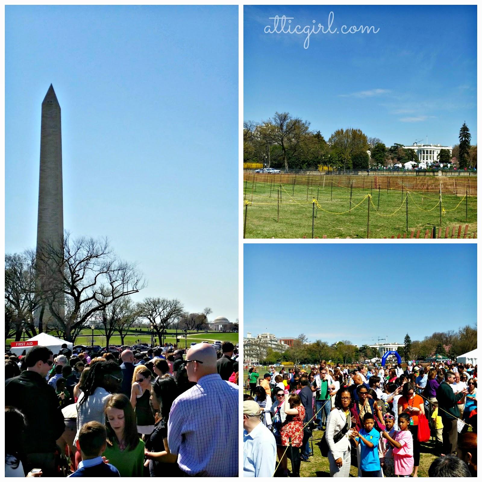 Washington Monument, The White House,