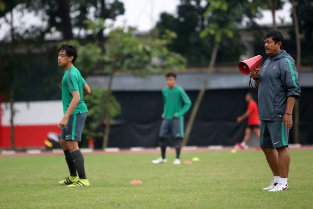Pelatih timnas U-18, Indra Sjafri