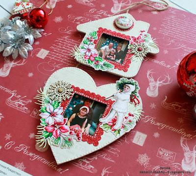мона дизайн, рамка с фото, новогодние фото