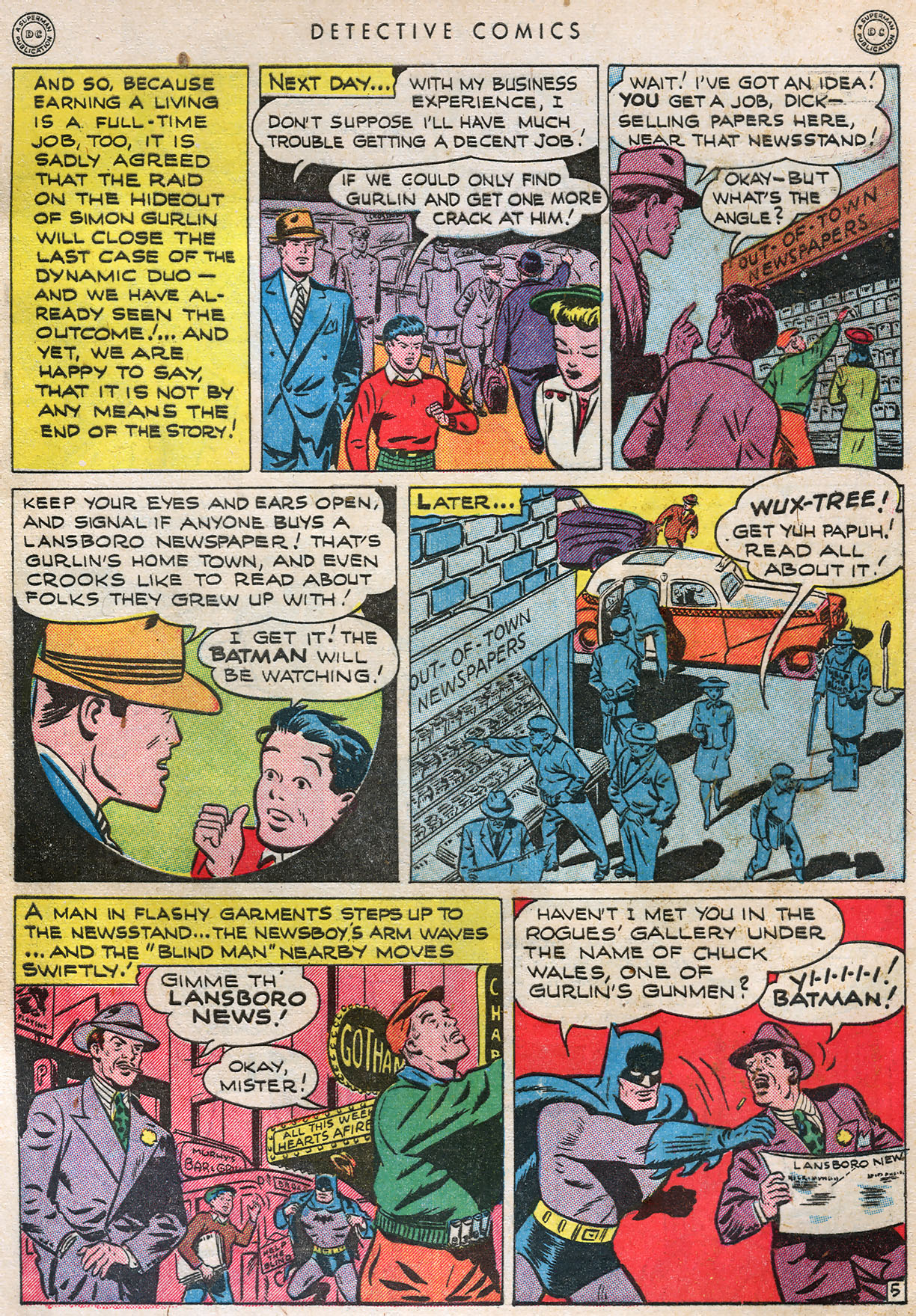Read online Detective Comics (1937) comic -  Issue #105 - 7