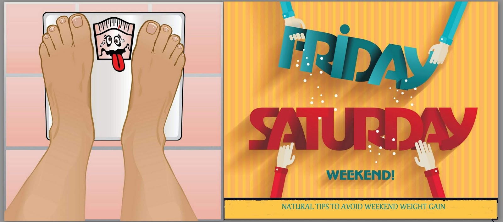 6 Steps to Stay On Track Over The Weekends