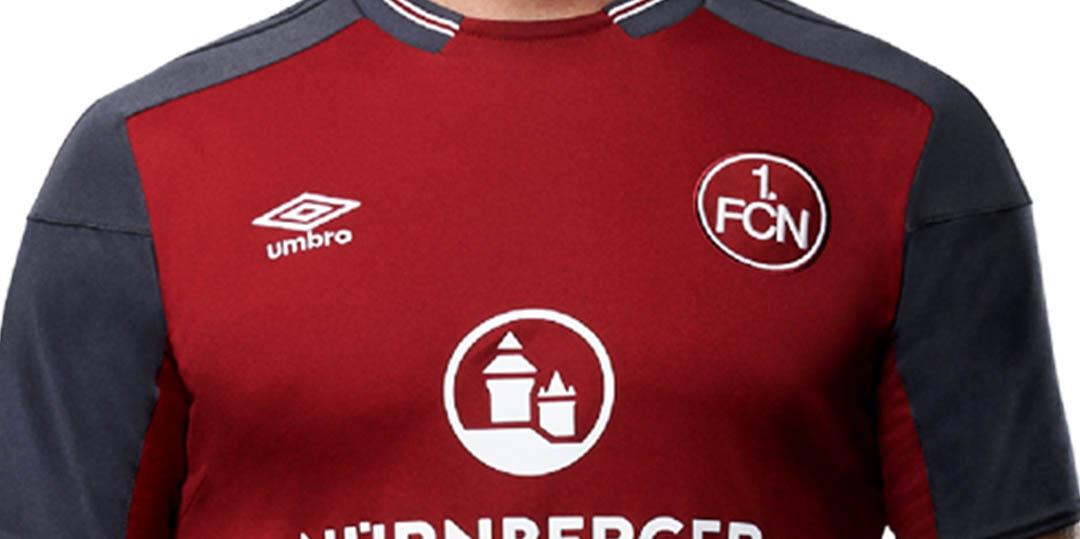 Umbro 1 Fc Nürnberg 17 18 Heimtrikot Veröffentlicht Nur Fussball