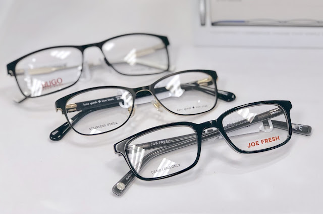 Eyeglasses - Theodore and Pringle Optical, Bayview Village -Vision Health Month