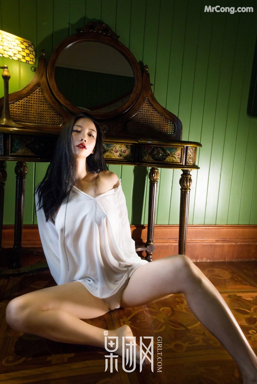 Image GIRLT-No.071-EMILY-MrCong.com-039 in post GIRLT No.071: Người mẫu EMILY (54 ảnh)