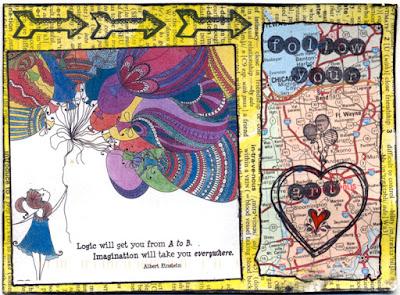 postcards from iHanna postcard swap