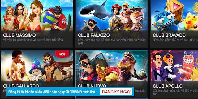 Slot game Online với nhiều chủ đề hấp dẫn