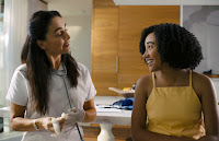 Ana de la Reguera and Amandla Stenberg in Everything, Everything (18)