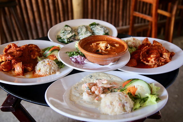 viva zapata food,  holbox,yucatan, mexico