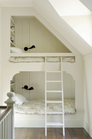 Small Room Decorating A trip down the rabbit hole with a Paris ... - Bunk Bed Ideas For Small Rooms