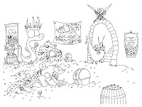 The Kingdom Of Alligator Coloring Sheet