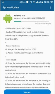 How To Upgrade Tecno L9 Plus To Android 7.0 Nougat