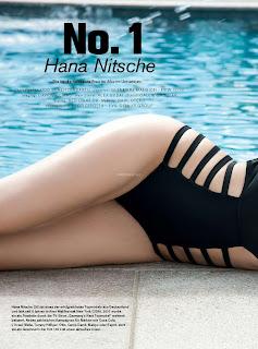 Hana Nitsche Amazing Swiff Beauty Huge Tits Sexy Boobs Lovely Ass Wet Horny Beauty Maxim Switzerland November 2016