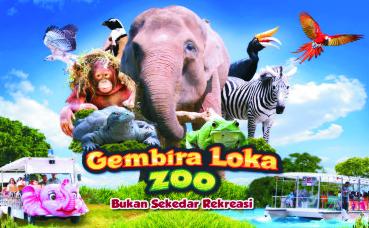 Pesona Wisata Gembira Loka Ada Komodo dan Penguin