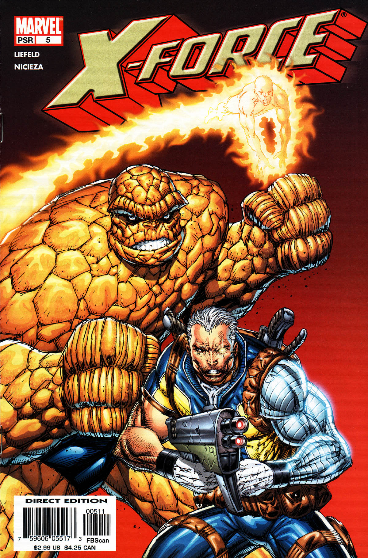 Read online X-Force (2004) comic -  Issue #5 - 1