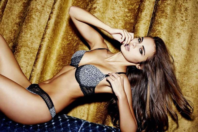 New Yorker Lingerie 2014 Lookbook starring Xenia Deli