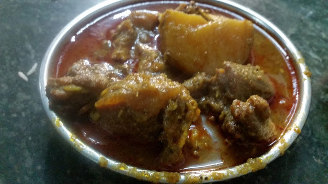Mutton Curry Bengali style