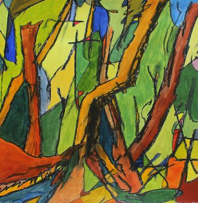martin hoogeboom, painting, schilderij, laren,
