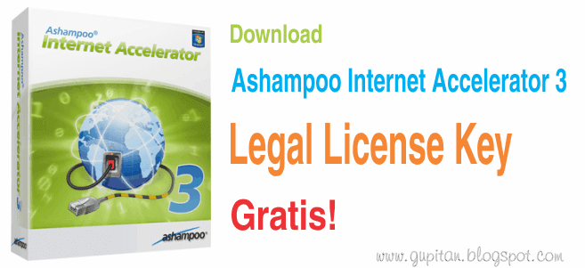 Download Ashampoo Internet Accelerator 3 Full Legal License Key