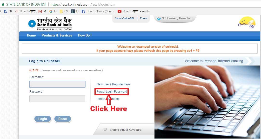 sbi nri online banking login