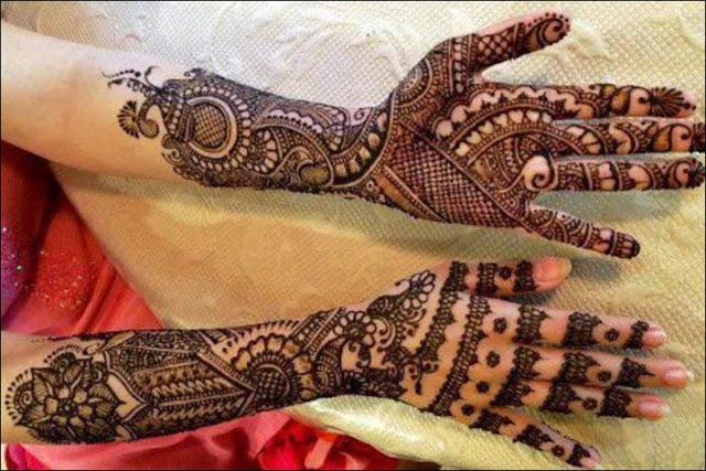 Rajasthani Mehndi Designs Images