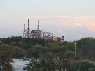 View of the Factory from the Hampton Inn Historic harbor on Amelia Island