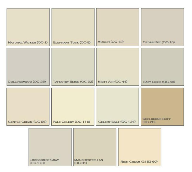 C b i d home decor and design the perfect neutrals for Benjamin moore creamy beige