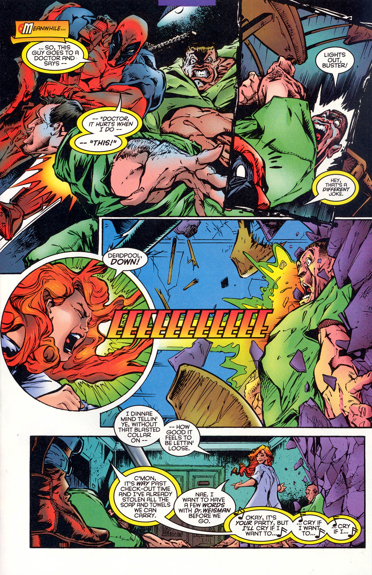 Read online X-Force (1991) comic -  Issue #47 - 14