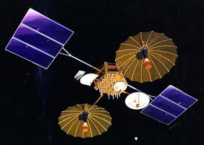 أنواع مختلفة من مرافق استقبال الأقمار الصناعية