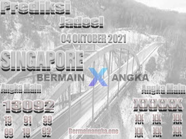 Syair sgp 04 Oktober 2021